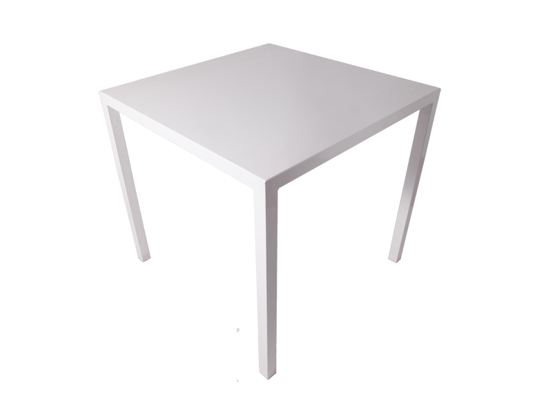 Tavolo Acciaio Bianco
